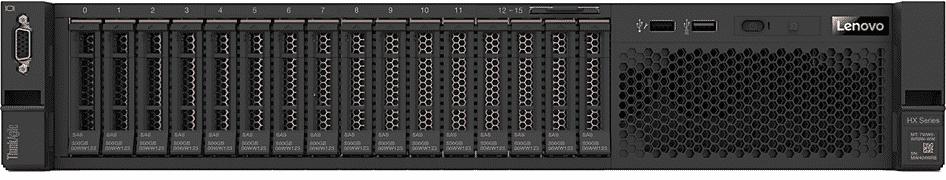 Lenovo ThinkAgile HX3520-G Appliance bildet die Basis für unsere Lösung.
